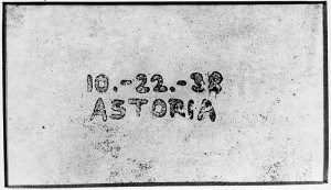 The first photocopy
