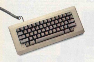 The Macintosh keyboard.