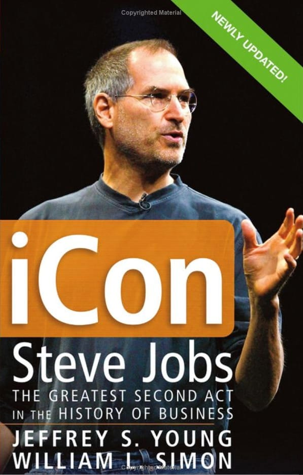 Business Book Cover Job : Book review quot icon steve jobs the greatest second act in