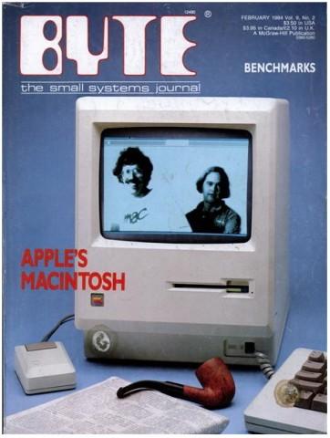 Cover, Byte Magazine, Feb. 1984