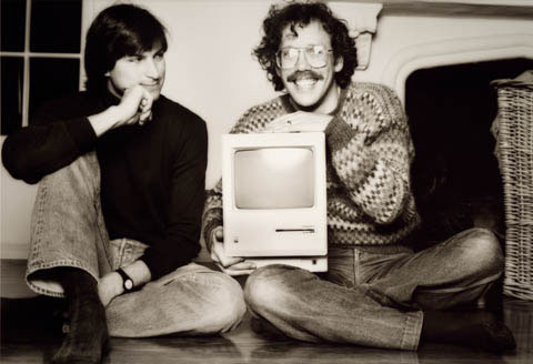 Steve Jobs and Bill Atkinson (Photo: Norman Seiff)