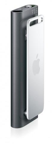 iPod shuffle (3G) black/silver