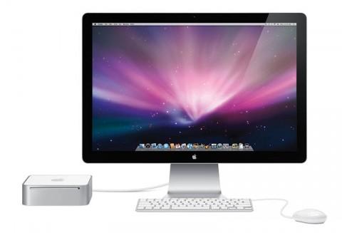 Mac mini with display