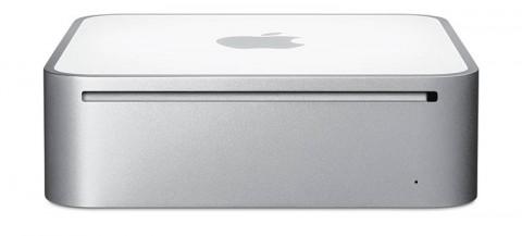 Mac mini frontside (March 2009)