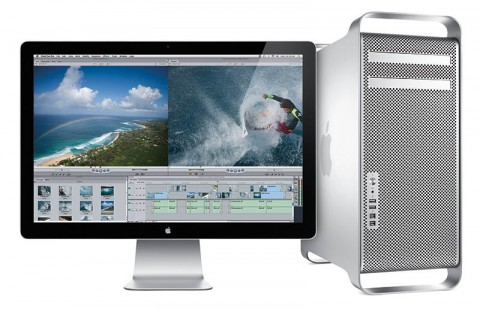 Mac Pro (March 2009) with Apple LED Cinema Display