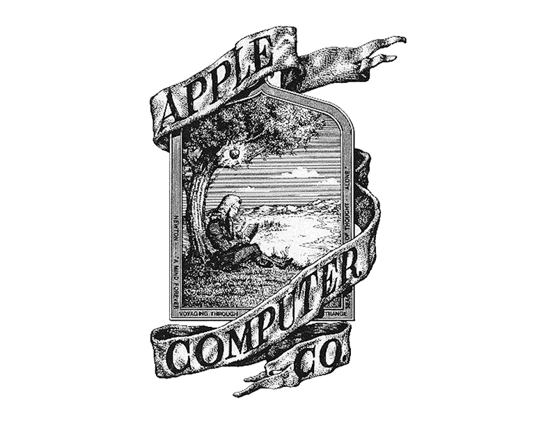 1976: Apple's First Logo