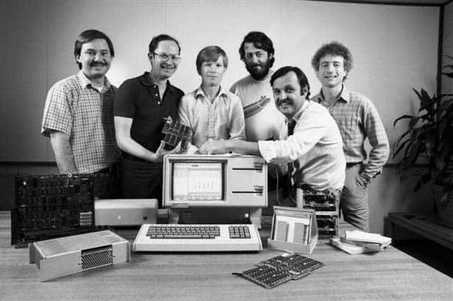 1983: Key member of the Apple Lisa team - Paul Baker, Bruce Daniels, Chris Franklin, Rich Page, John Couch, Larry Tesler