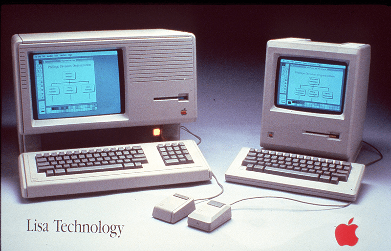 1984: Apple Lisa and Apple Macintosh