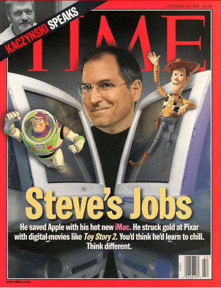 TIME Magazine Steve Jobs Apple Computer Cover October 17 2011