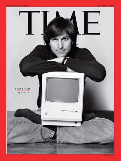 Time Cover Steve Jobs - 2011: Steve Jobs, 1955-2011