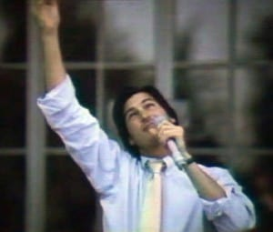 Steve Jobs celebrating Apple's IPO (1980)