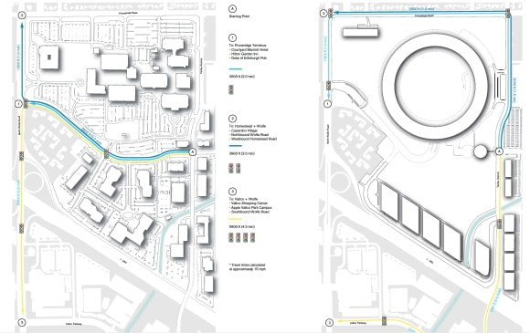 Apple Campus 2 - Conceptual Site Plan (Updated March 2012)