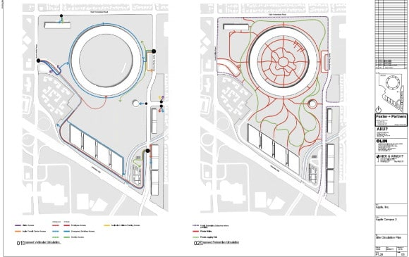 Apple Campus 2 - Traffic and Pedestrians (Updated March 2012)